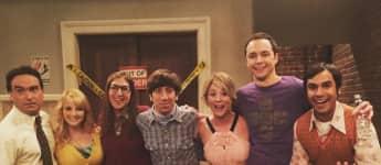 """Der """"The Big Bang Theory""""-Cast freut sich auf die neunte Staffel"""