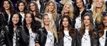 Victoria's Secret Fashion Show Engel Adriana Lima Liu Wen Candice Swanepoel Lily Aldridge Alessandra Ambrosio