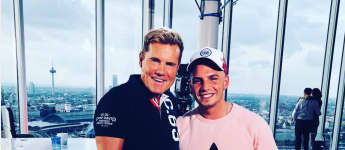 DSDS Dieter Bohlen Pietro Lombardi Casting Besuch Freunde