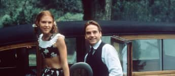 "Dominique Swain und Jeremy Irons in ""Lolita"" 1997"