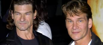 """Don Swayze und sein Bruder Patrick Swayze bei der Premiere zu """"Kill Bill: Vol 2"""""""