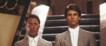 "Dustin Hoffman und Tom Cruise in ""Rain Man"""
