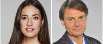Elena Garcia Gerlach und Wolfgang Bahro GZSZ