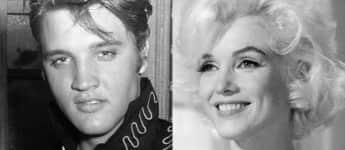 Elvis Presley und Marilyn Monroe