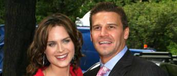 """2005 standen Emily Deschanel und David Boreanaz das erste Mal für """"Bones"""" vor der Kamera"""
