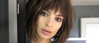 Model Emily Ratajkowski zeigt sich mit riesigem Ausschnitt auf Instagram