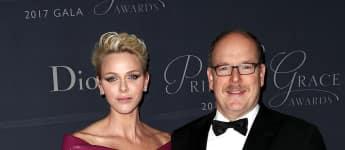 Fürstin Charlène Fürst Albert von Monaco Princess Grace Awards Gala