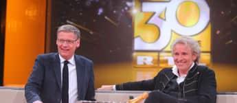 Günther Jauch und Thomas Gottschalk in der großen RTL-Jubiläumsshow
