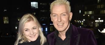 DSDS Juror H.P. Baxxter und Freundin Lysann Konzert total verliebt glücklich