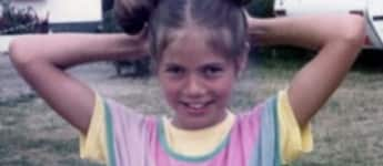 Heidi Klum als Kind