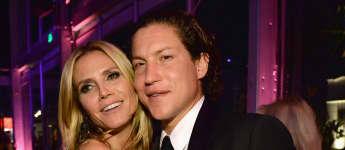 Heidi Klum und Viro Schnabel auf der Vanity Fair Oscar Party