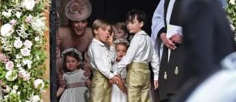 Herzogin Kate und Prinzessin Charlotte bei Pippas Hochzeit