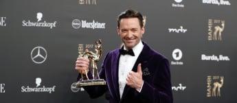 Hugh Jackman gewann den Bambi in der Kategorie Entertainment