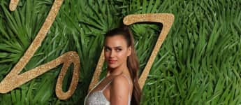 Irina Shayk Anfang Dezember 2017 bei den Fashion Awards in London, Bradley Cooper