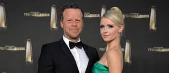 Jenke von Wilmsdorff und seine Freundin Mia Bergmmann beim deutschen Fernsehpreis