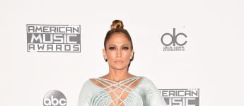 Jennifer Lopez bei den American Music Awards 2015