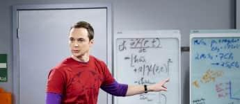 """Dr. Sheldon Cooper"" in seinem Element"