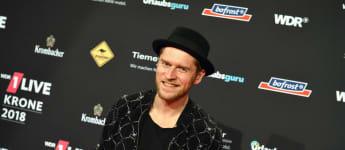 Johannes Oerding bei der 1live-Krone im Dezember 2018