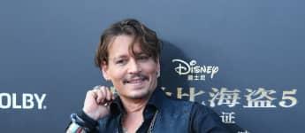 Johnny Depp Paris Shanghai China neuer Film Fluch der Karibik Premiere Promo-Tour