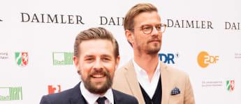 Joko Winterscheidt und Klaas Heufer-Umlauf bei der Verleihung des 54. Grimme-Preises