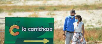 König Felipe und Königin Letizia in Murcia