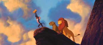 """Beliebter Kinderfilm """"König der Löwen"""""""