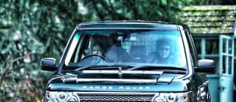 Königin Elisabeth II. Auto