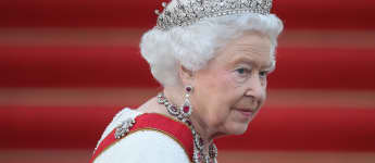 Königin Elizabeth II. auf Schloss Bellevue im Juni 2015