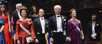 Schwedische Royals Nobelpreisverleihung 2015
