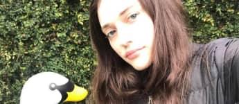Kat Dennings no make up natürlich