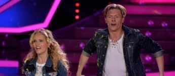 "Katja Burkard bei ""Let's Dance"""