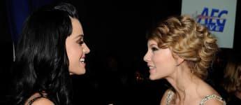Katy Perry und Taylor Swift sollen sich nicht mehr wirklich gut verstehen