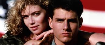 """Kelly McGillis und Tom Cruise in """"Top Gun"""""""