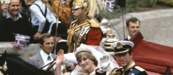 lady diana; lady diana hochzeit; lady diana 1981; lady diana hochzeit juli; lady diana prinz charles;