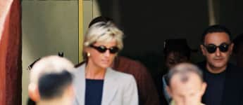 Lady Diana und Dodi Al-Fayed 1997 in Italien