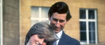 Lady Diana und Prinz Charles waren so glücklich