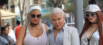 Sophia Vegas und Rodrigo Alves in Beverly Hills, Briten-Ken