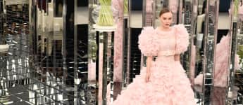Lily-Rose Depp Karl Lagerfeld Muse Designer Model Chanel Werbegesicht Gesicht Model Paris Fashion Week Muse