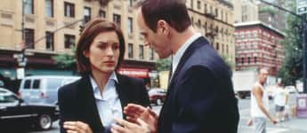 "Mariska Hargitay und Christopher Meloni in ""Law & Order Special Victim Unit"""