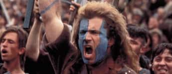 "Mel Gibson in ""Braveheart"""