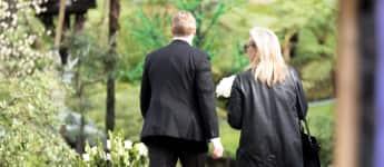 Meryl Streep auf dem Weg zur Beerdigung von Carrie Fisher und Debbie Reynolds