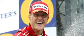 Michael Schumacher Formel 1 Legende Motorsport Weltmeister Corinna Unfall Rennfahrer Sportler Weltmeister 2004 Sektdusche