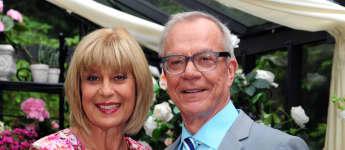 """""""Sturm der Liebe""""-Stars Mona Seefried und Dirk Galuba"""