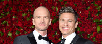 Neil Patrick Harris und David Burtka bei den Tony Awards
