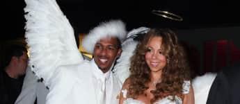 Die Halloweenkostüme von Nick Canon und Mariah Carey 2009