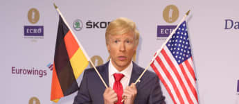 Oliver Pocher Donald Trump Echo 2016