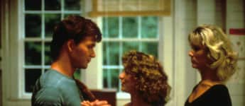 "Patrick Swayze und Jennifer Grey im Kult-Film ""Dirty Dancing"""