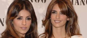Penélope Cruz und  Mónica Cruz