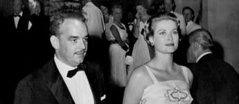 Prince Rainer and Princess Grace Patricia of Monaco