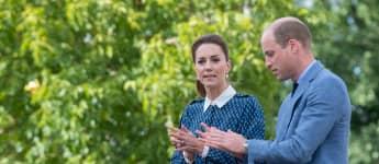 Prinz William und Herzogin Kate besuchen am 5. Juli 2020 das Queen Elizabeth Hospital